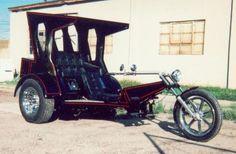 Cryptkeeper VW Custom Trike