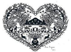 Nina Aoyama Paper cutout & silhouette art