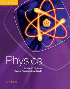 This new exam preparation guide provides additional guidance for students taking the Physics for the IB Diploma course. ISBN: 9781107359703
