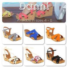 Meet Danni! She is our medium height wedge cork sole. Danni can be accompanied with these and many other colours and style straps. Why not buy this sole and a few of the different straps to go with it to change up your style?