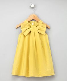 i need this in my size...look at that giant bow! and it's in a happy butter yellow too...