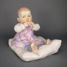 Hentschelkind Meissen Porzellan