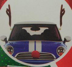 Rudolph Reindeer Antler & Red Nose Car Decoration Kit Christmas  #Unbranded
