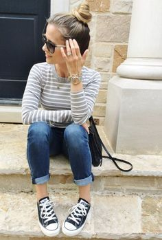 Fall Style: Easy Mama Style Daze - my kind of sweet fall style Trendy Fashion, Spring Fashion, Autumn Fashion, Fashion Trends, Style Fashion, Mom Style Fall, Spring Style, Fashion Maman, Chic Outfits