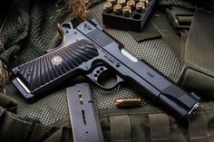 Wilson Combat 1911Loading that magazine is a pain! Get your Magazine speedloader today! http://www.amazon.com/shops/raeind