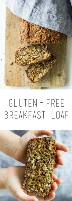 One loaf, so much goodness! This gluten-free breakfast loaf is the perfect kick-start to your busy day. It's full of energy, nutrients and great taste.