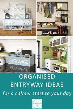 Organised entryway ideas for a calmer start to your day