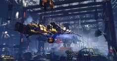 concept ships: Ships from Strike Vector