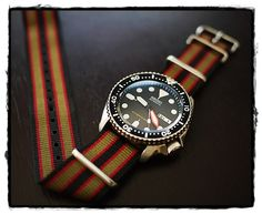 Seiko SKX007 on a Bond nato