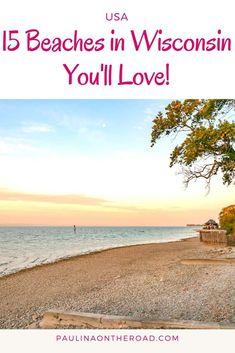 Washington Beaches, Washington Island Wisconsin, Canada Travel, Travel Usa, Lakeside Beach, Door County Wisconsin, Honeymoon Photography, Lake Michigan Beaches, Michigan Travel