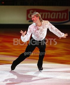 Evgeni  Plushenko (born 3 November 1982) is a Russian figure skater. He is a four-time Olympic medalist (2006 gold, 2014 team gold, 2002 & 2010 silver), a three-time World champion (2001, 2003, 2004). Plushenko's four Olympic medals tied Sweden's Gillis Grafström's record for most Olympic medals in figure skating.
