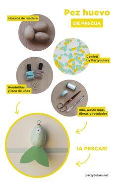 DIY Pez huevo de Pascua - Partyculars