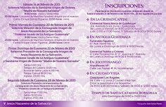 #InscripcionesCuaresma2015 en #AntiguaGuatemala de Santa Catalina Bobadilla