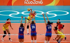 #CHN ends #SRB's #Volleyball adventure to claim #Rio2016 #Gold