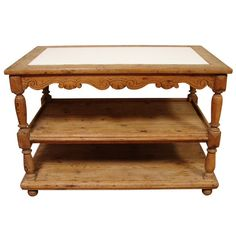 Table with 101 uses......center island server....rustic front hall table.....bathroom vanity.....