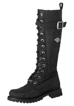 Harley Davidson SAVANNAH - Cowboy/Biker boots - black for £159.99 (03/09/16)…