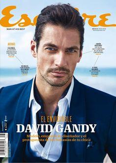 Male Model Scene — David Gandy Covers Esquire Latinoamerica November...