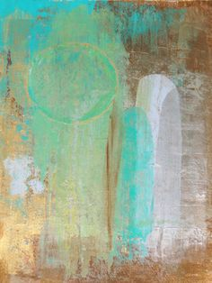 Modern Abstract Art Acrylic Painting Turquoise by LamArtStudio ...BTW,Please Check this out: http://artcaffeine.imobileappsys.com