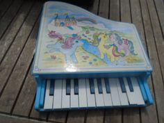 PIANO-VINTAGE-HASBRO-1986-MON-PETIT-PONEY-RARE-A-VOIR