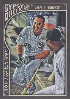 2015 Topps Gypsy Queen #114b Jose Abreu Front