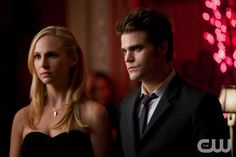 Nina Dobrev & Paul Wesley: Bitter Ball on 'The Vampire Diaries' Tonight!: Photo Stefan (Paul Wesley) and Katherine/Elena (Nina Dobrev) share a dance in this still from tonight's episode of The Vampire Diaries. Vampire Diaries Stefan, Vampire Diaries Spoilers, Vampire Diaries Season 5, Vampire Diaries Quotes, Vampire Diaries The Originals, Caroline Forbes, Stefan E Caroline, Paul Wesley, Nina Dobrev