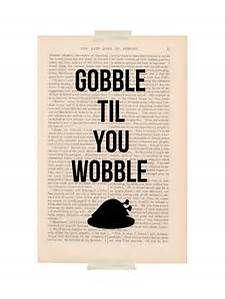 Free Printable Gobble till You Wobble - Bing images