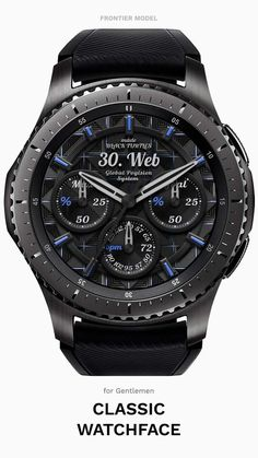 [Features] Battery indicator Step count Day display Heart rate display Always on mode Search for Samsung Apps, Samsung Gear Manager > Sport Watches, Cool Watches, Watches For Men, Men's Watches, Wrist Watches, Armani Watches, Luxury Watches, Digital Watch Face, Watch Gears