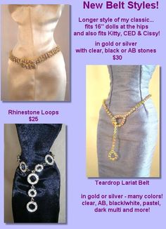 Rhinestone Collection - Belts