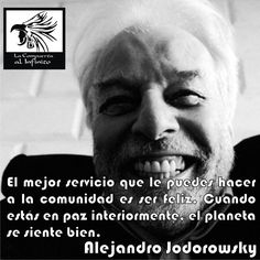 - @alejodorowsky #Frases #Reflexiones #La_Compuerta_al_Infinito