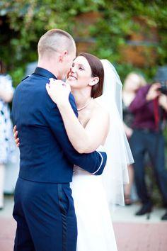 shabby chic military wedding  //  chelsea elizabeth photography