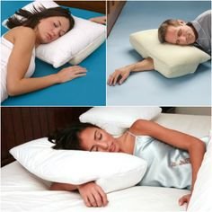 Better Sleep Pillow! Buy one from our store (http://www.noroip.com/invented4you/shop-products/better-sleep-pillow/) #pillow #sleep #apnea #spine #sleeping #pillows #invented4you