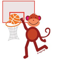 Basketball t-shirts and gifts by d-signs2go. Check out our selections of monkey designs in t-shirts and gifts http://www.d-monkeyshop.com/basketball-gifts-basketball-gifts-for-kids-and-adults/