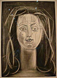 Picasso - portrait of Francoise Gilot