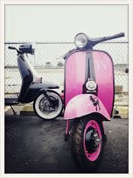 pink scooter on the beach - Google zoeken
