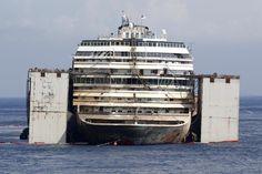 Costa Concordia Salvage Progress | costa concordia Archives - gCaptain Maritime & Offshore News