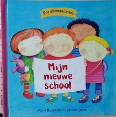 Boek Mijn nieuwe school