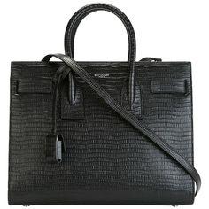 Pre-owned Saint Laurent Large Sac De Jour Embossed Lizard Leather...  ( 2 6966912d27136