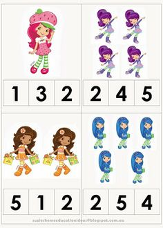 Suzie's Home Education Ideas: Strawberry Shortcake Printable Pack