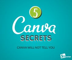 5 Minute Librarian: 5 Secret Tricks to Using Canva like a Pro!