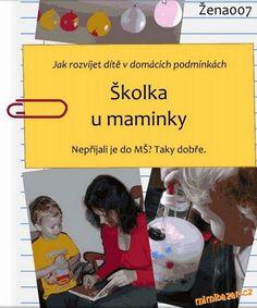Hromada návodů pro maminky s dětmi doma