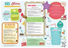 sometimes it's hard finding a well designed kids menu...