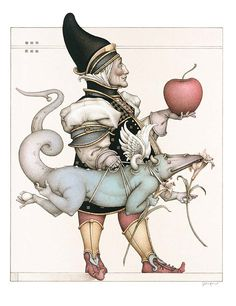 """The Dragon Collector - 2003  The collectors are creatures that find things of extraordinary interest and beauty,"""" says artist Michael Parkes."""