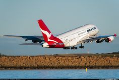 Taken with + Teleconverter at (Nikon - Photo taken at Sydney - Kingsford Smith International (Mascot) (SYD / YSSY) in New South Wales, Australia on May Airbus A380, Aircraft Pictures, Aeroplanes, Aviation, Aircraft