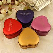 Personlized Small Heart Shaped Favor Tin - Se... – AUD $ 24.25