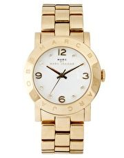 Marc By Marc Jacobs Amy Gold Bracelet Watch