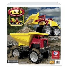 Mega Construction Playset by American Plastic Toys