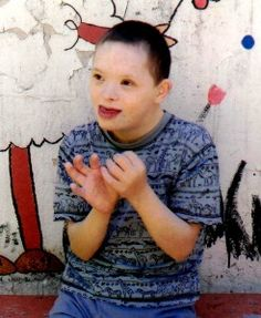 Andruis has some hearing loss and wears hearing aids. He continuously receives speech and music therapy.  As you can see from his photo, he is doing well, but desperately needs a family as he has been living at the institution since 2007. #adoption #reeces #family #downsyndrome #hearingimpairment #hypermetropia http://reecesrainbow.org/1124/andruisl