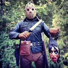 """216 Likes, 3 Comments - @frankie.the.13th on Instagram: """"#jasonvoorhees #fridaythe13th#horror #crystallake #alicecooper"""""""