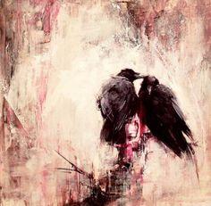 Ravens by lindsey kustusch https://www.lindseykustusch.com/