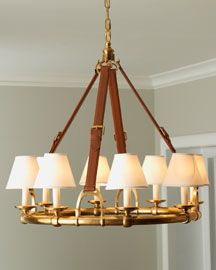 ~ Living a Beautiful Life ~ 'Westbury' Chandelier - contemporary - products - Neiman Marcus Equestrian Decor, Equestrian Style, Equestrian Jewelry, Luminaire Original, Home Decor Lights, Inspired Homes, Chandelier Lighting, Chandelier Ideas, Chandeliers